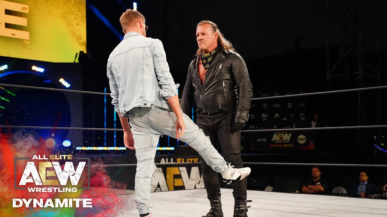 Download WAIT UNTIL YOU SEE WHAT HAPPENED WHEN JERICHO AND ORANGE CASSIDY FACED OFF   AEW DYNAMITE 6/24/20