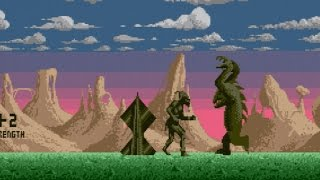 Shadow of the Beast - [Atari ST] Longplay/Cheatplay (1990)