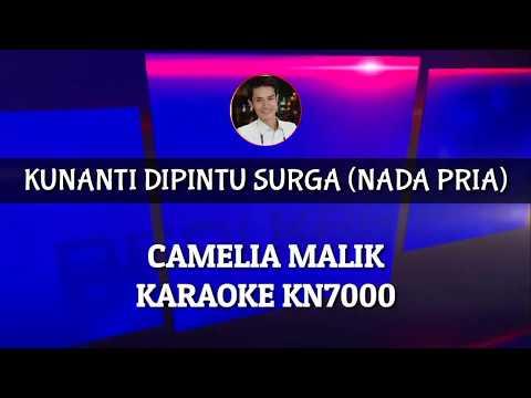 Karaoke Nada Pria  Kunanti Dipintu Surga  Cover Keyboard KN7000