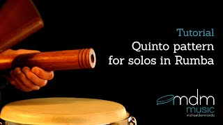 Quinto instructions for solo's in rumba by Michael de Miranda