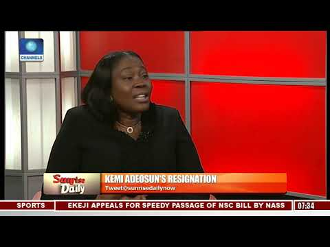 Adeosun's Resignation: 'It Was A Genuine Error' Marcus Bello Highlights Lessons Learnt Pt.1