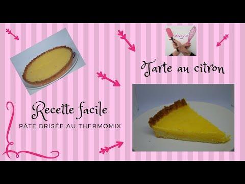 tarte-au-citron-recette-facile-dessert,-pâte-sablée-thermomix