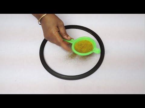 Download Youtube: latest rangoli designs for diwali 2017 || simple colour kolam designs || easy freehand muggulu