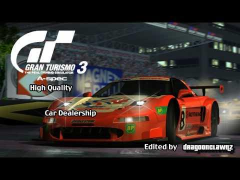 Gran Turismo 3 A-Spec High Quality - Car Dealership
