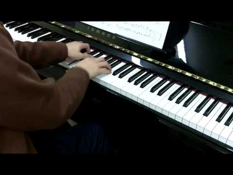 ABRSM Piano 2011-2012 Grade 5 C:1 C1 Thiman Water Pieces No.5 Flood-Time 180 Bpm