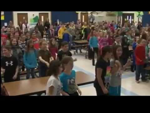Students at Crestview Elementary meet Ugandan pen pals face to face