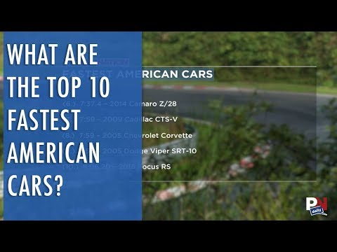 The Top 10 Fastest American Cars On The Nurburgring