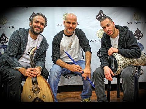 "Arab Instruments Trio - ""Igrig"" Solo Oud Doumbek & Ney"