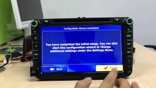 Install GPS navigation app set navi button on android 5.1.1 lollipop car head unit(delete 2 files)