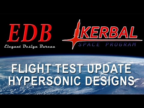 Kerbal Space Program EDB Aerospace 09 - Hypersonic Aircraft