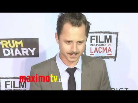 "Giovanni Ribisi at ""The Rum Diary"" Premiere Arrivals"