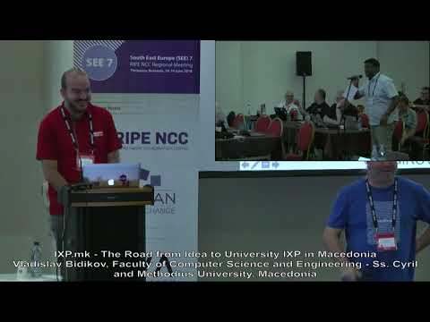 SEE 7: IXP.mk - The Road from Idea to University IXP in Macedonia