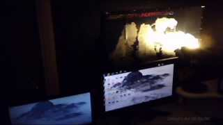 My New Gaming Setup Plans For 2014 (new Desk)