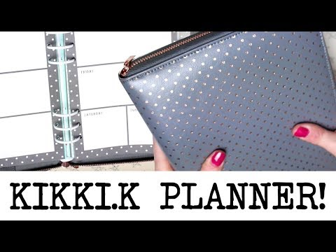 Oh So Lovely, Large Zipped Kikki.K Planner!