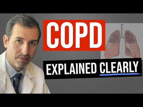 COPD (Emphysema) Explained Clearly - Pathophysiology & Treatment