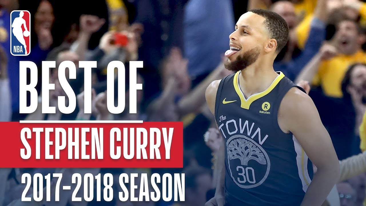 6a4da2964a98a Stephen Curry's Best Plays of the 2017-2018 NBA Season! - YouTube