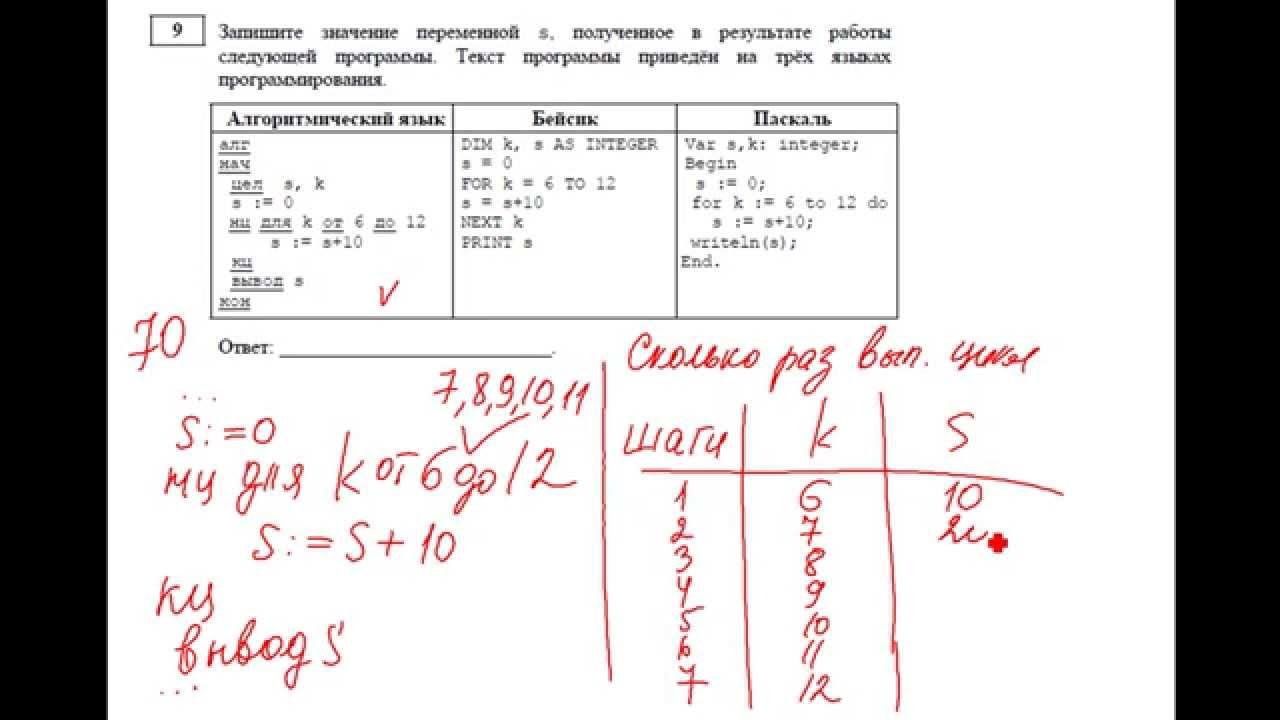 Задачи по информатики с решением 9 класс решения задач по физике школьникам бесплатно