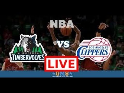 (LIVE NOW ) Los Angeles Clippers Vs Minnesota Timberwolves  Live Stream