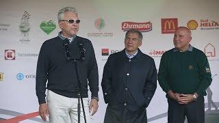 Минниханов и Христенко открыли турнир по гольфу на Кубок президента РТ