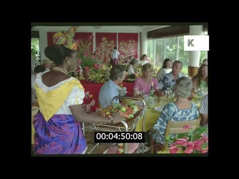 1970s-tourists-visit-caribbean,-hd-35mm