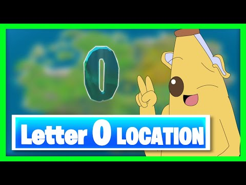 WHERE To Find The HIDDEN Letter O In Fortnite Season 11 Chapter 2 ?? Fortnite Battle Royale