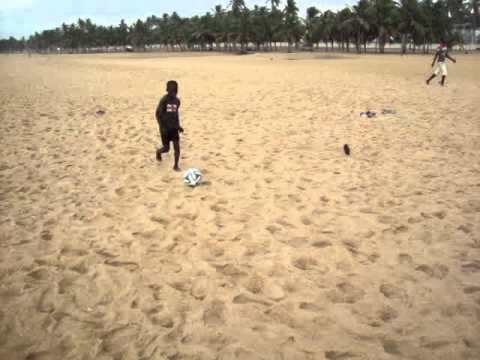 Street kids Sports Coaching project - Lome, Togo