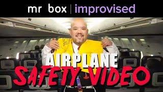 airplane safety video worm hotel