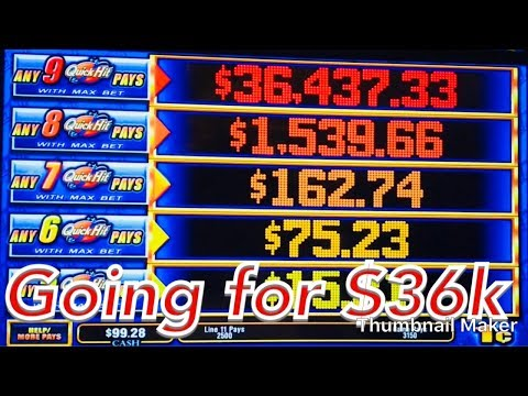 💫 GOING FOR $36,437 QUICK HITS SLOT MACHINE 💫 BACK TO BACK BONUS