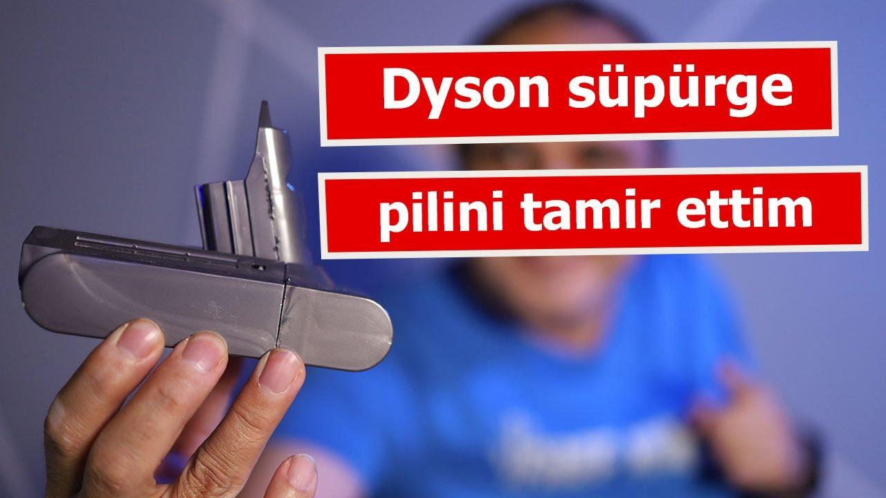 Kablosuz süpürgenin pilini tamir ettim: Dyson V6 pil tamiri