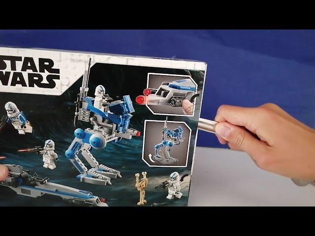 Das LEGO 501st Battle Pack im Review I Webdough Film