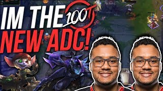 Step aside imaqtpie, I'm the 100T ADC | Aphromoo ADC