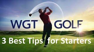 WGT Golf - 3 Top Tips & Tricks for Beginners screenshot 5