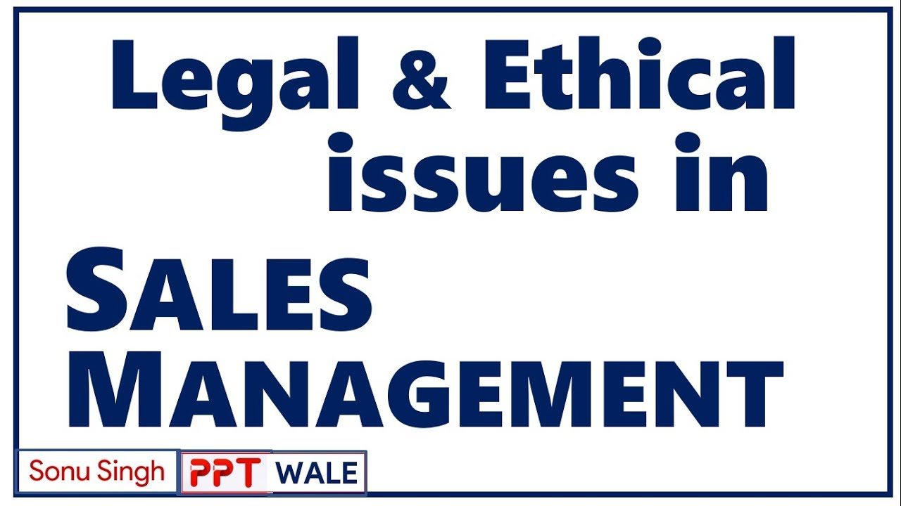 ethical issues in sales promotion