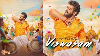 Title : viswasam song celebration by thala fans music satham raja lyrics pandiyarajan edit ramvj@madurai360 singer aravind chorus stephen stud...