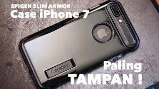 SPIGEN Slim Armor for iPhone 7 Plus - Review Case Ganteng! - indratechlife