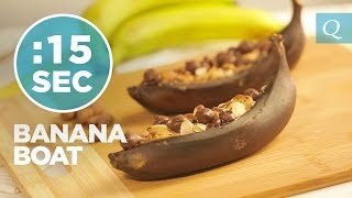 Banana Boat - #15secondrecipe