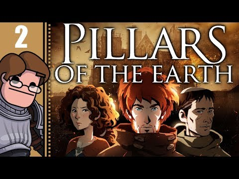 Let's Play Ken Follett's The Pillars of the Earth Part 2 - The Devil Has Come to Kingsbridge