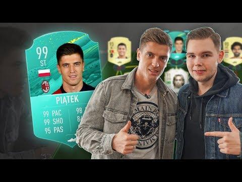 KRZYSZTOF PIĄTEK Vs PLKD! KARTA 99! | FIFA 20 Ultimate Team