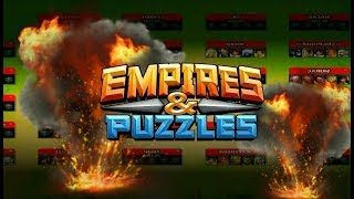 Война аликов Empires puzzles