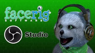 How to use FaceRig in OBS Studio and MORE!