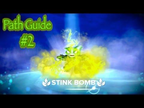 Skylanders Swap Force - Stink Bomb Path Guide #2
