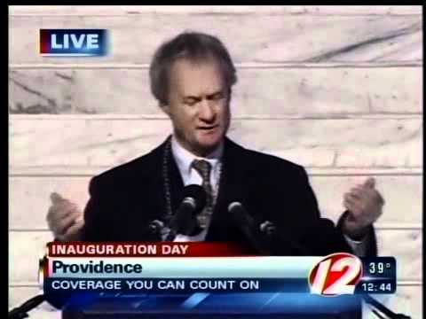 Lincoln Chafee Inauguration Speech