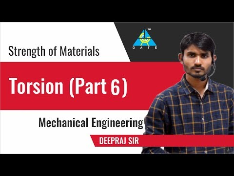 Torsion (Part 6) | Strength of Materials