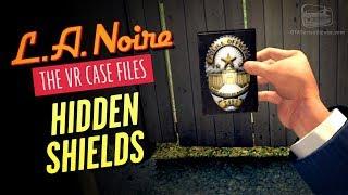 LA Noire VR - Police Badges Locations [Let Me See Some ID Achievement / Trophy]