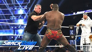 Shane McMahon & The Miz vs. The Vegas Boys: SmackDown LIVE, Dec. 11, 2018