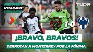 Resumen y Goles Juárez 1 - 0 Monterrey | Liga Mx Apertura 2019   Jornada 8 | TUDN