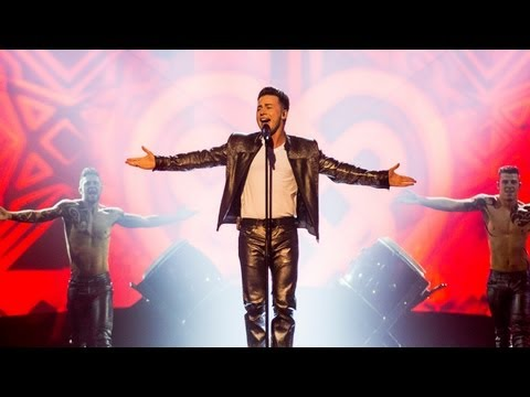 Ryan Dolan performs for Ireland   Eurovision Song Contest Semi-Final 2013