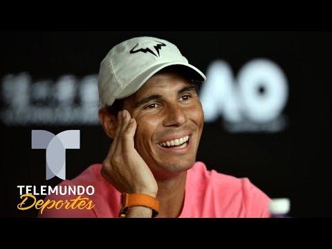 El mensaje motivador de Rafa Nadal mitigar la cuarentena | Telemundo Deportes