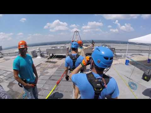 Amber New: Over the Edge for Charity (FULL VIDEO)