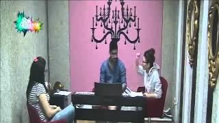 حديث ليا وشيرين مع مينا بعد عتابه لهما لأنهما لم يوقظاه لحصة المسرح 11  10  2014